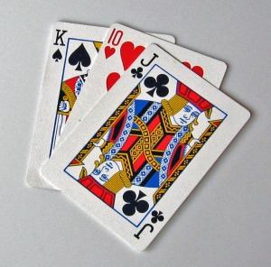 Deck of Cards, Time Line