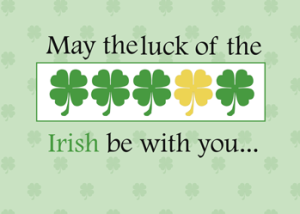 Luck of the Irish BaZi Example